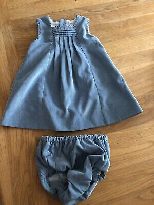 Dulces Girls Dress & Cardigan Excellent Condition 12-18 Months