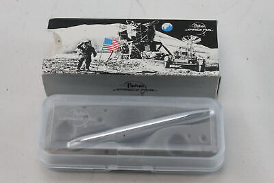 "Fisher 400 Classic 5.25"" Black Ink Bullet Space Pen Chrome NIB"