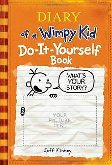 Diary of a Wimpy Kid Do-It-Yourself Book by Jeff Kinney | Book | condition good