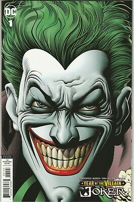 Joker Year of the Villain #1 Bolland Retailer Thank You Variant NM Promo Comic