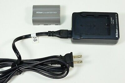 Nikon EN-EL3e Rechargeable Lithium-Ion Battery and Charger