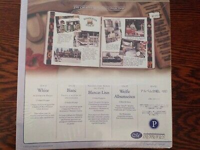 Creative Memories 12 X 12 White Refill Scrapbook Pages