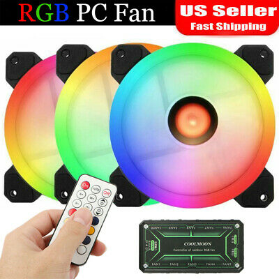 120mm PC Case Fan Anti vibration Gasket Silicone Shock Proof Absorption Pad NICA