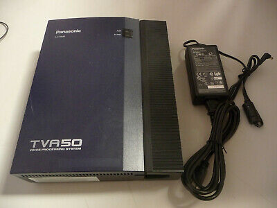 Panasonic KX-TVA50 Phone Voice Processing System Voice Mail with AC adapter