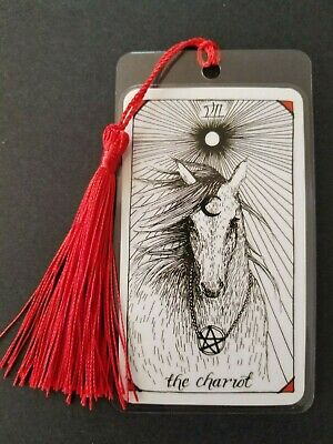 VII The Chariot Bookmark, Wild Unknown Tarot Deck Card, Horse, New, Gift, Oracle