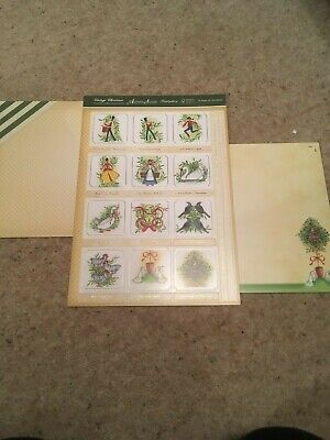 Hunkdory Kit - 12 Days of Xmas - Die Cut Topper Sheet & 2 Backing Cards