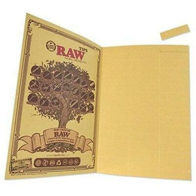 RAW Classic The Rawlbook 480 Count Book of Natural Unrefined Rolling Tips