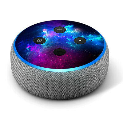 Vinyl Decal Skin for Amazon Echo Dot 3rd Gen - Galaxy Space Gasses