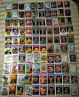 Huge lot Garbage pail kids trading cards stickers Chrome 878+/- cards Near Mint