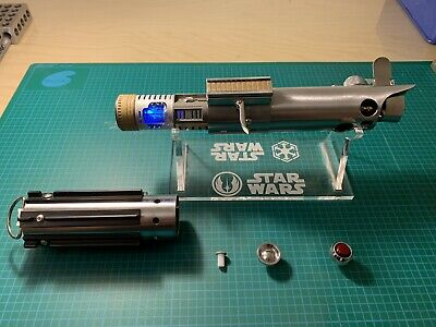 Graflex Lightsaber With Sound and Crystal Chamber