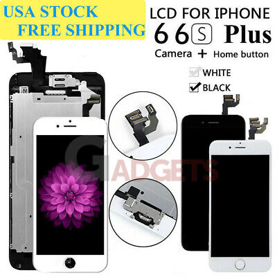 For iPhone 6S 6 Plus Full LCD Touch Screen Replacement + Home Button&Camera Lot