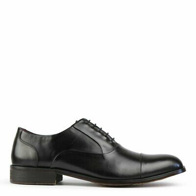 Nick Black Leather School Business Office Work Formal Oxford Men's Shoes