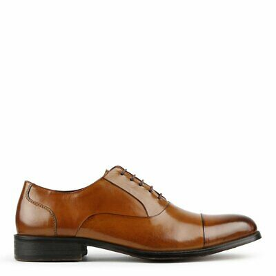 Nick Tan Leather School Business Office Work Formal Oxford Men's Shoes