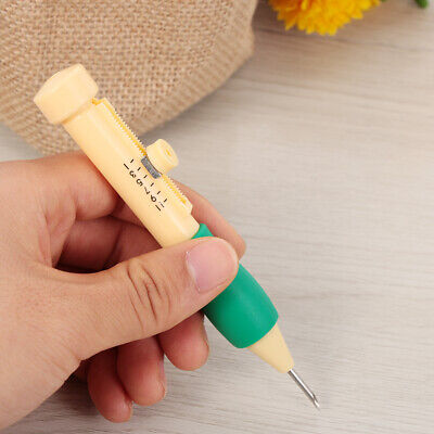Craft Sewing Tool Punch Plastic DIY Threaders Needles Magic Embroidery Pen Set