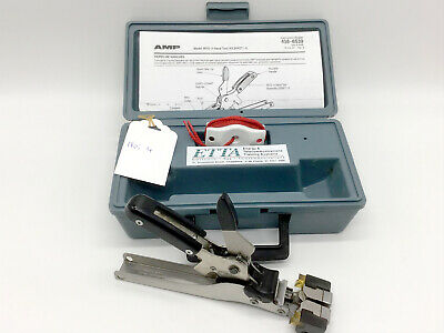Used Original Amp Tyco Electronics MVS-3 244271-3 Picabond Crimp Tool Splicer