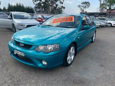 2007 Ford Falcon BF MkII 07 Upgrade XR6 Green Automatic 4sp A Sedan