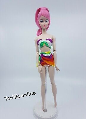 New Barbie doll clothes fashion swimmers bathing suit casual bright bikini