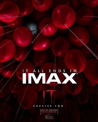 It: Chapter Two IMAX 2019 Movie Art Silk Poster 12x18 24x36