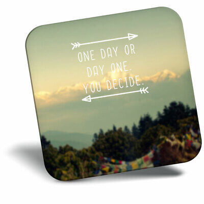 Awesome Fridge Magnet Motivational Quote Travel Cool Gift #3957