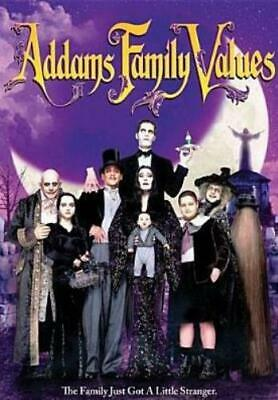 ADDAMS FAMILY VALUES (Region 1 DVD,US Import,sealed.)