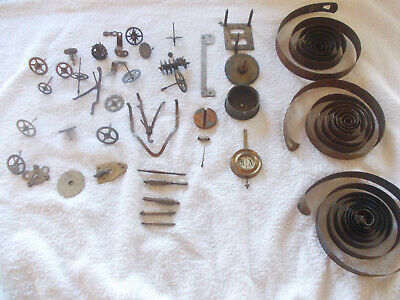 Job Lot of Vintage  Mixed use Clock Parts, Useful Clockmakers Spare Stock, LOT 6