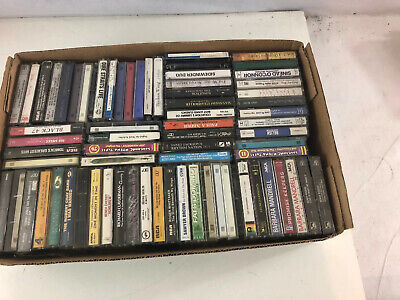Lot of 72 - Mixed Random Audio Cassette Tapes - Blues, Rock, classical, etc.