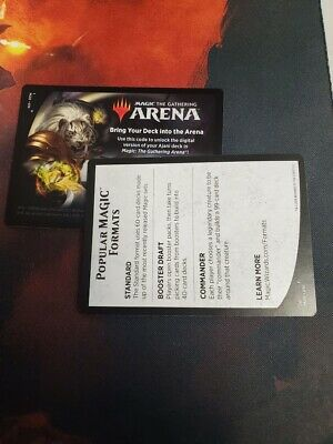 MTG Arena Core Set 2020 Ajani Planeswalker Deck EMAIL CODE ONLY M20