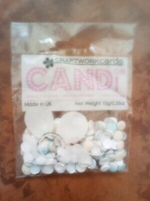 Craftwork Cards Candi Assorted Pastel colours raised dots