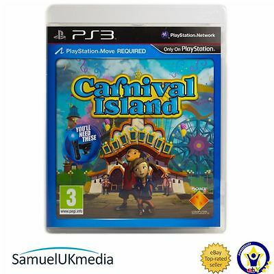 Carnival Island - Move Required (PS3) **GREAT CONDITION!**