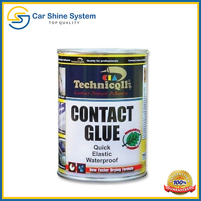 325ml Contact Adhesive Glue Leather Rubber Cork Plastic Metal Felt Faux Leather