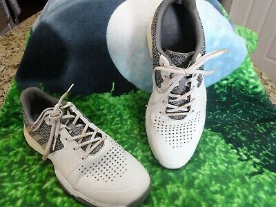 Adidas Boost Endless Energy White/Silver Spikeless Golf Shoes Mens Size 11 M US