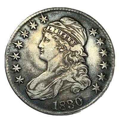 1830 Capped Bust Half Dollar CHOICE VF+/XF