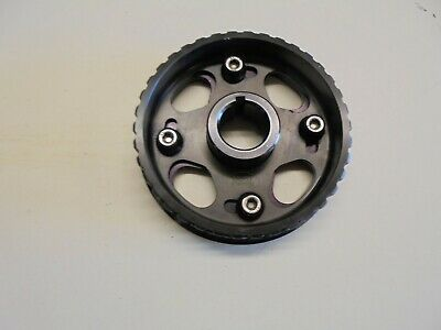 Ford Pinto Kent Cams Adjustable Vernier Pulley.in black.