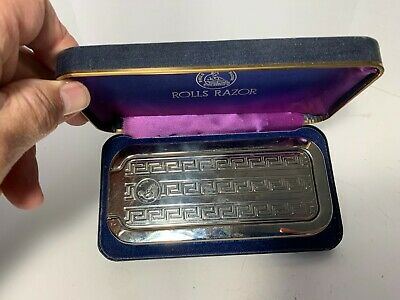 VINTAGE 1927 Rolls Razor, Made in England BEAUTIFUL CONDITION NR