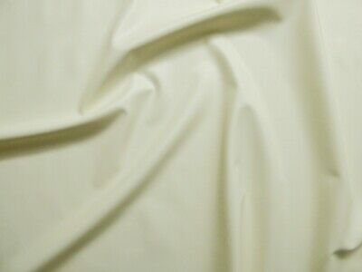 100cm Wide White Latex Rubber 0.25mm Thick