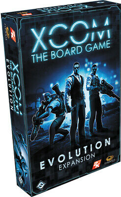 FFGXC02  Fantasy Flight Games - XCOM: The Board Game: Evolution Expansion
