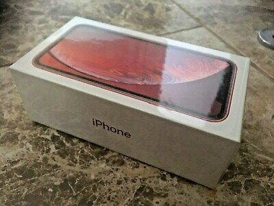 Apple iPhone XR 128gb Red Unlocked Brand New Unopened