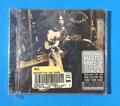 New NEIL YOUNG Greatest Hits Sealed Collectible Rare CD ~ 16 Songs