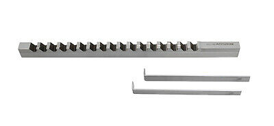 "14mm-Style D, H.S.S. Keyway Broach, Length of Cut: 1-6"", 2 Shims, 5001-0020"