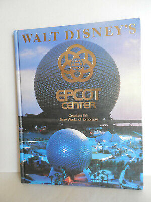 1982 Walt Disney's Epcot Center Souvenir Hardcover Book New World of Tomorrow