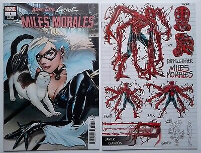 ABSOLUTE CARNAGE MILES MORALES #1 Codex & Young Guns VARIANTS 2019 NM 1st prints