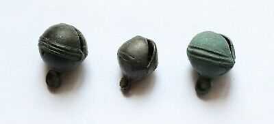 Authentic Medieval Viking Age Bronze Bells