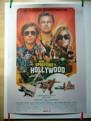 Once Upon A Time In Hollywood -  Original Film  Poster - Quentin Tarantino