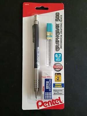 Pentel PG527LEBP 0.5 and 0.7mm Medium GRAPHGEAR 500™ Automatic Pencil