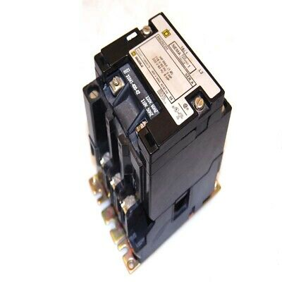 Square D 8502-SC01 Series A Size 1 Magnetic Motor Contactor/Starter w/ 120V Coil