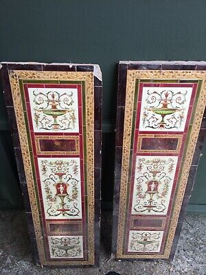 Victorian Fireplace Decorative Tiles