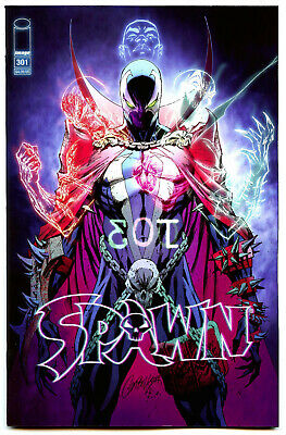 Spawn #301 (2019) Image NM/NM- J. Scott Campbell Variant Cover O