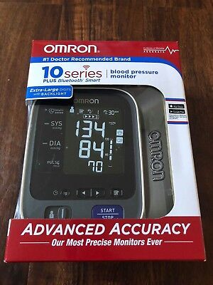 Omron 10 Series Upper Arm Blood Pressure Monitor with Bluetooth Model BP786