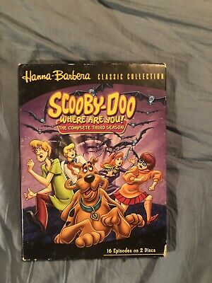 Scooby Doo Where Are You Season Three Dvd Used.