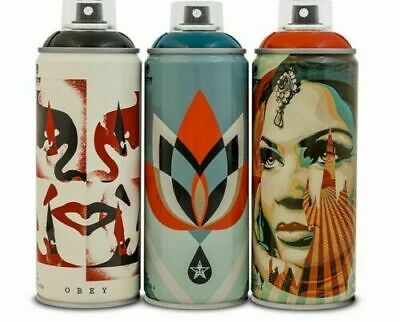 Obey/Shepard Fairey X Montana Spray Can Paint SET! Beyond The Street SHIPS FAST